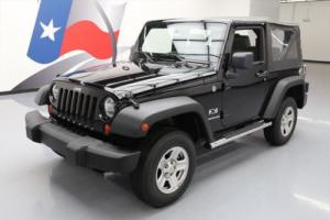 2009 Jeep Wrangler X CONVERTIBLE 4X4 AUTO CD AUDIO