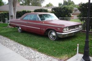 1963 FORD GALAXIE XL500 390 V8 AUTO