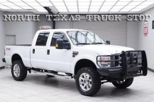 2010 Ford F-250 XLT 6.4L FX4 Leather Crew 20s 35s