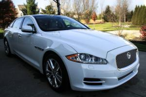 2013 Jaguar XJ XJL (Long version)