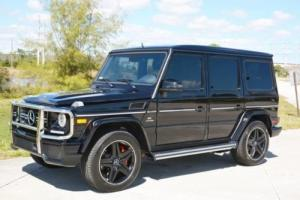 2015 Mercedes-Benz G-Class G63 AMG Photo