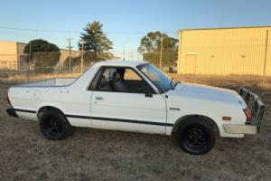 Subaru Brumby No Reserve may suit WRX, Datsun 1200, collector,