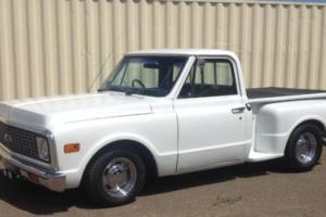 1972 C10 CHEV STEPSIDE PICKUP - RIGHT HAND DRIVE
