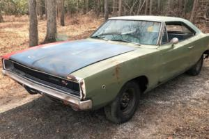 1968 Dodge Charger 1968 CHARGER R/T 440 AUTO RUNNING DRIVING PROJECT Photo