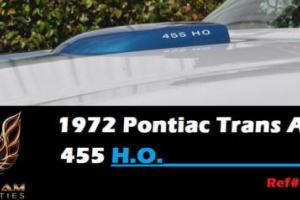 1972 Pontiac Trans Am H.O.