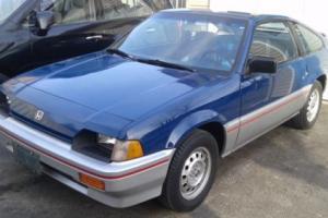 Honda: CRX