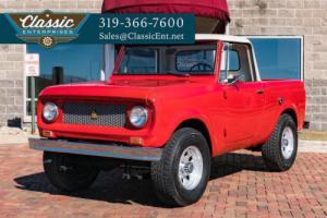 1970 International Scout 800-A Pickup Truck Photo