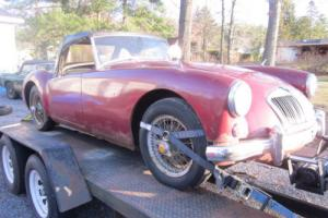 1957 MG MGA Photo