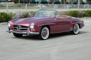 1957 Mercedes-Benz SL-Class STRAWBERRY RED 190SL ROADSTER Photo