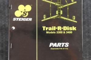 STEIGER BEARCAT COUGAR PANTHER TIGER TRACTOR 3300 4400 TRAIL-R-DISK PARTS MANUAL