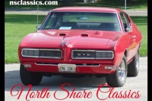 1968 Pontiac GTO -RED AND READY-REAL 242 GTO-GREAT QUALITY CONDITIO