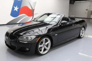 2013 BMW 3-Series 335I CONVERTIBLE M-SPORT NAV HTD SEATS