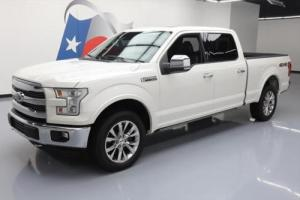 2015 Ford F-150 LARIAT 4X4 CREW 5.0L PANO ROOF NAV
