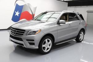 2012 Mercedes-Benz M-Class ML550ATIC AWD PANO ROOF NAV Photo