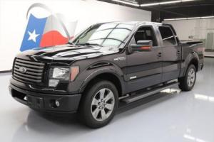 2012 Ford F-150 FX2 LUX CREW ECOBOOST LEATHER 20'S