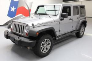 2013 Jeep Wrangler UNLTD RUBICON HARD TOP 4X4 NAV