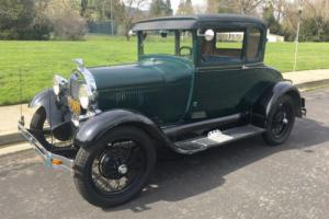 1929 Ford Model A Coupe, California Car, Driver, original