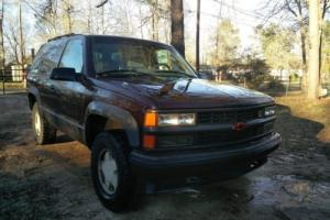 1996 Chevrolet Tahoe Tahoe
