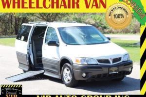 2005 Pontiac Montana Florida Braun Handicap Wheelchair Van