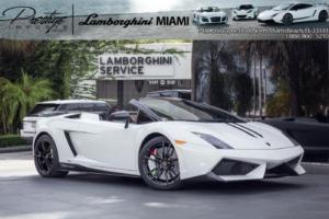 2013 Lamborghini Gallardo Performante Edizione Tecnica