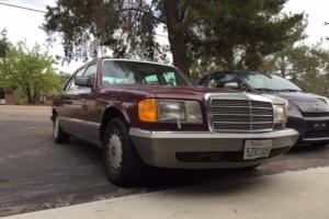 1986 Mercedes-Benz 500-Series 560SEL