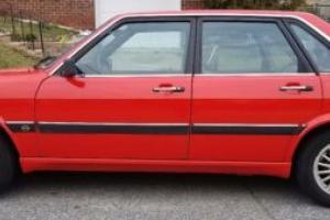 1986 Audi 4000 S