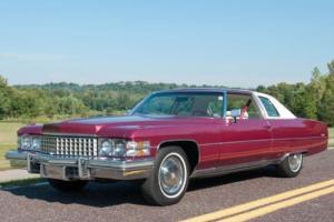 1974 Cadillac DeVille Coupe DeVille