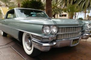 1963 Cadillac DeVille 1963 CADILLAC SERIES 62 COUPE
