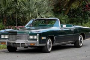 1976 Cadillac Eldorado ELDORADO CONVERTIBLE Photo