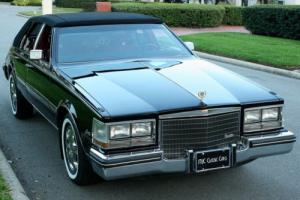 1984 Cadillac Seville SLANT BACK - IMMACULATE - 500 MILES