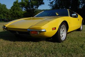 1972 DeTomaso Pantera Complete mechanical restoration on low mile very nice car. Photo