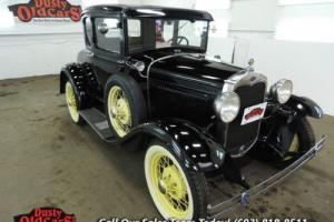 1930 Ford Model A Body Inter VGood 3.3L I4 3 spd man