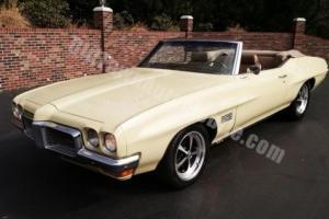 1970 Pontiac LeMans Convertible -- Photo