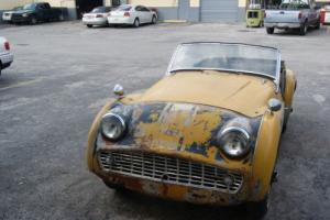 1959 Triumph TR3 Photo