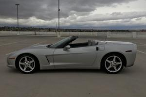 2006 Chevrolet Corvette CORVETTE SILVER CONVERTIBLE RUNS GREAT