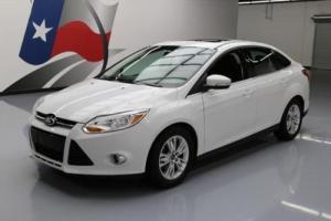 2012 Ford Focus SEL SEDAN SUNROOF ALLOY WHEELS