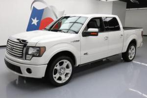2011 Ford F-150 LIMITED CREW LEATHER SUNROOF NAV