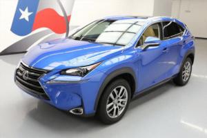 2016 Lexus NX200t LUXURY SUNROOF NAV REAR CAM