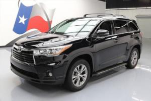 2015 Toyota Highlander XLE LEATHER SUNROOF NAV