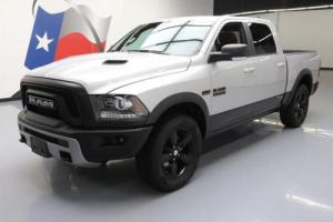2016 Dodge Ram 1500 REBEL CREW 4X4 NAV REAR CAM 20'S