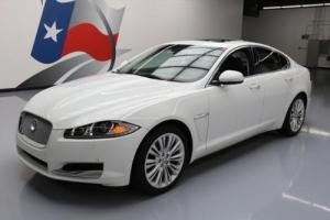 2013 Jaguar XF 3.0 AWD S/C HTD LEATHER SUNROOF NAV