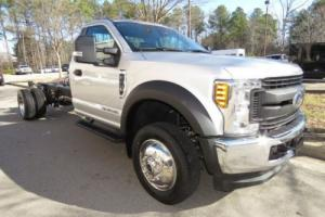 """2017 Ford F-450 XL 193"""" WB CAB CHASSIS 50 STATE EMISSION"""