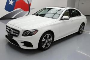 2017 Mercedes-Benz E-Class E300 SEDAN SUNROOF NAV BLUETOOTH
