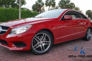 2014 Mercedes-Benz E-Class E350 4MATIC COUPE AMG SPORT ONLY 12,882 MILES!