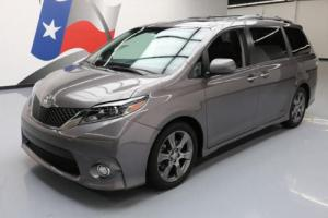 2016 Toyota Sienna SE 8-PASS HTD LEATHER SUNROOF