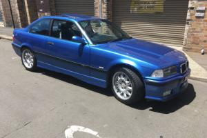 BMWM3 E36 COUPE BLUE SPORTS MANUAL 3.2ltr