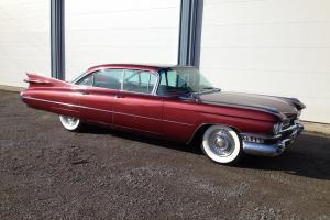1959 Cadillac DeVille    eBay Photo