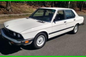 1983 BMW 5-Series Photo