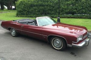 1973 Buick Centurion 455 Convertible Photo