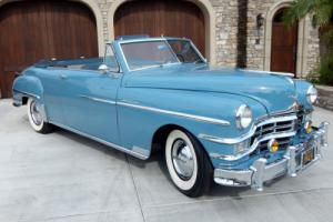 1949 Chrysler Windsor Convertible Restored 77,000 Miles Photo